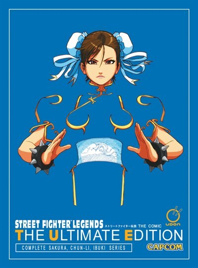 Street Fighter Legends: The Ultimate Edition by Ken Siu-chong