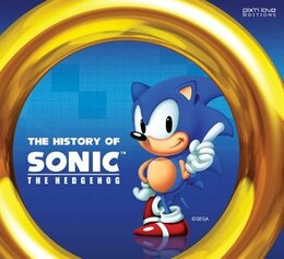 Book The History Of Sonic The Hedgehog by Marc Pétronille