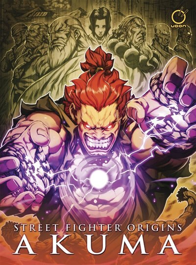 Street Fighter Origins: Akuma by Chris Sarracini
