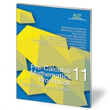 Mcgraw hill ryerson mathematics 11 ebook coupon codes choice image pre calculus mathematics 11 workbook student solution manual book pre calculus mathematics 11 workbook student solution fandeluxe Image collections