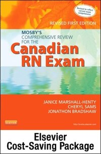 Mosby's Comprehensive Review For The Canadian Rn Exam - Revised + Mosby's Prep Guide For The…
