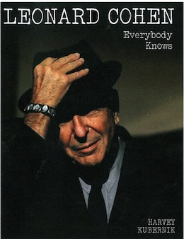 Book Leonard Cohen Everybody Knows by Harvey Kubernik