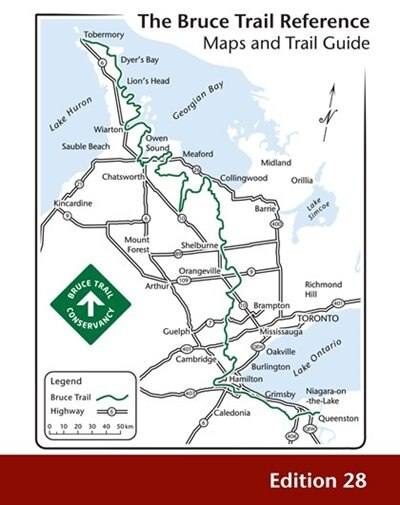 Bruce Trail Reference by The Bruce Trail Conservancy