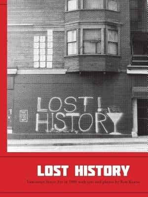 Lost History de Ron Kearse