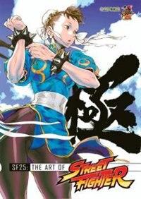 Book Sf25: The Art Of Street Fighter by Kinu Capcom