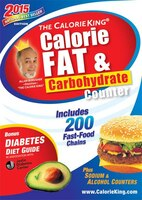 The Calorieking Calorie, Fat & Carbohydrate Counter 2015: Large Print Edition