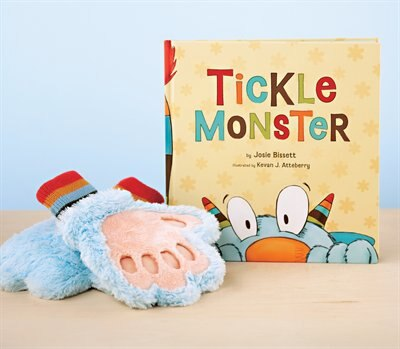 Tickle Monster Book & Mitt by Josie Bissett