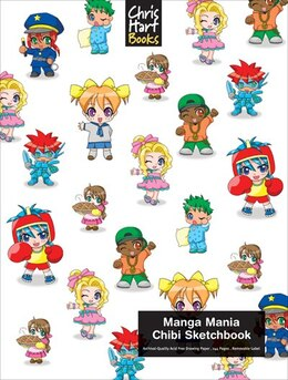 Book Manga Mania?: Chibi Sketchbook by Christopher Hart