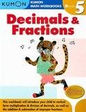 Grade 5 Decimals & Fractions by Kumon