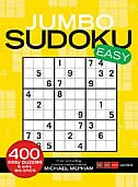 Book Jumbo Sudoku Easy by Michael Mepham