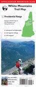 Amc Map: Presidential Range: White Mountains Trail Map by Appalachian Mountain Club Books
