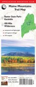 Amc Maine Mountains Trail Maps 1-2: Baxter State Park-katahdin And 100-mile Wilderness: Maine Mountains Trail Map by Appalachian Mountain Club Books