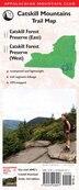 Amc Catskill Mountains Trail Map 1-2: Catskill Forest Preserve (east) And Catskill Forest Preserve (west): Catskill Forest Preserve (east) / Catskill  by Appalachian Mountain Club Books