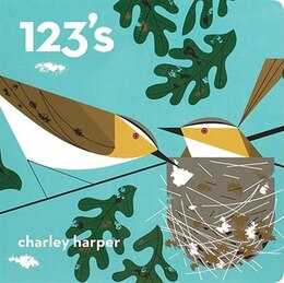 Book Charley Harper 123s: Skinny Edition by Charley Harper