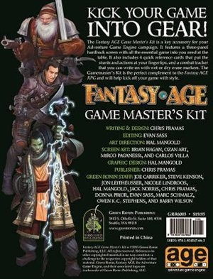 Fantasy Age Game Master's Kit by Chris Pramas