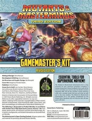 Mutants & Masterminds Gamemaster's Kit, Revised Edition by Steve Kenson