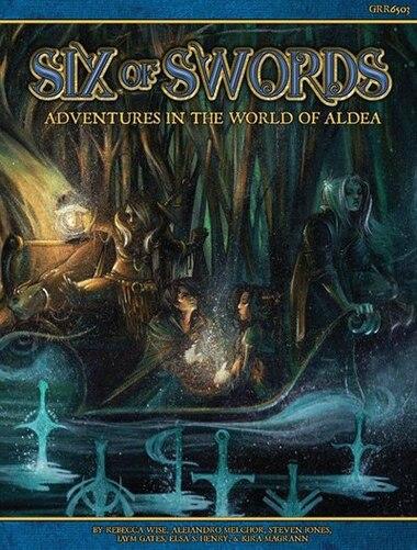 Blue Rose: Rpg Six Of Swords by Jaym Gates