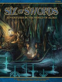 Blue Rose: Rpg Six Of Swords