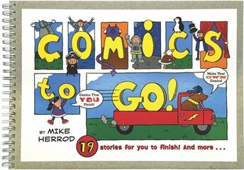 Comics to Go: We Start and You Finish