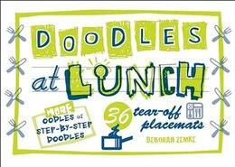 Book Doodles At Lunch by Deborah Zemke
