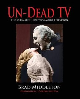 Book Un-dead Tv by Brad Middleton
