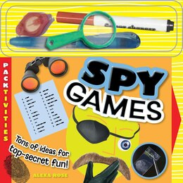 Book Spy Games: PACK-tivities by Rose Alexa