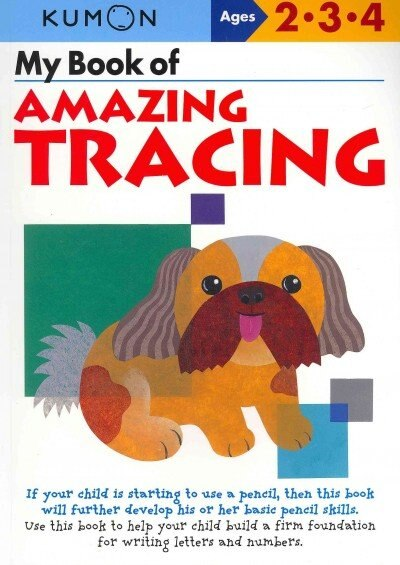 My Book of Amazing Tracing by Kumon