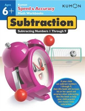 Speed & Accuracy Subtraction by Kumon