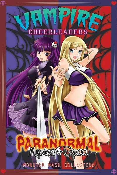 Vampire Cheerleaders/Paranormal Mystery Squad Monster Mash Collection by Adam Arnold