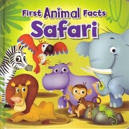 Book 1ST ANIMAL FACTS SAFARI by Antonini Gabriele