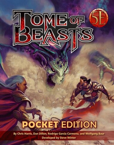 Tome Of Beasts Pocket Edition by Kobold Staff