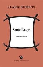 Stoic Logic