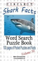 Circle It, Shark Facts, Word Search, Puzzle Book
