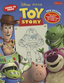 Book Learn to Draw:Disney/Pixar's Toy Story: New Expanded Edition! Featuring favorite characters from… by Walter Foster Creative Team