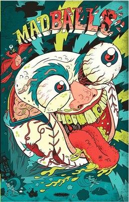 Book Madballs: Vol. 1 by Brad Mcginty
