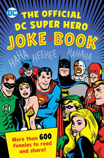 The Official DC Super Hero Joke Book by Michael Robin
