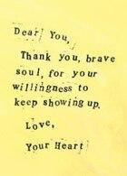 Brave Soul: A Dear You Journal