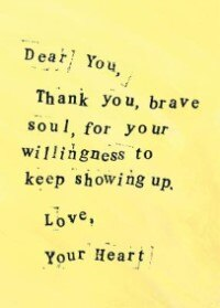 Brave Soul: A Dear You Journal
