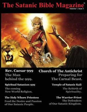 The Satanic Bible Magazine by George A. Hart