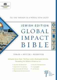 global Impact Bible, Jps Tanakh Jewish Edition: See The Bible In A Whole New Light by Museum Of The Bible Books