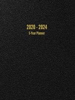 2020 - 2024 5-Year Planner: 60-Month Calendar (Black)