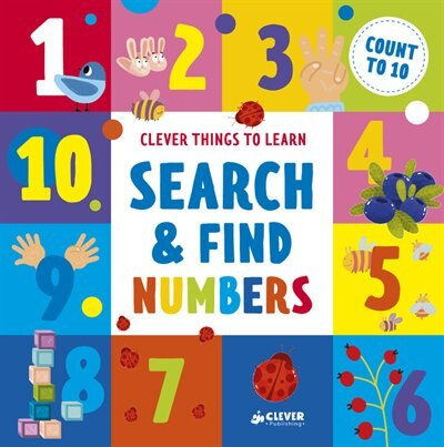 Search And Find Numbers: Count To 10 by Ekaterina Clever Publishing