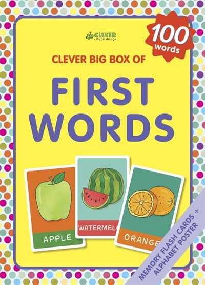 First Words: Memory Flash Cards by Masha Clever Publishing
