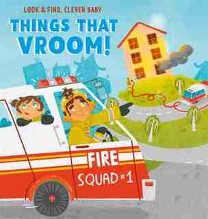 Things That Vroom!: Things That Go! by Olga Utkina