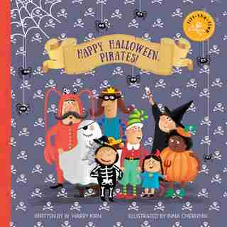 Happy Halloween, Pirates!: Lift-the-flap Book by W. Harry Kirn