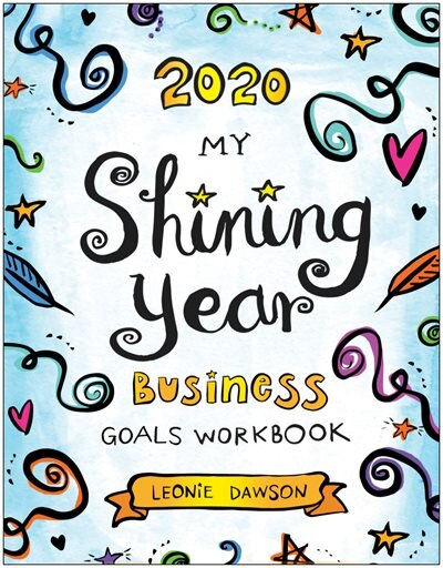 2020 Myshining Year Business Goals Workbook by Leonie Dawson