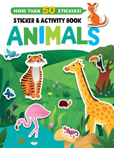 Animals Stickers And Activity Book by Clever Publishing