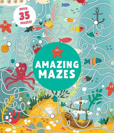 Amazing Mazes: Level 2 by Lida Danilova