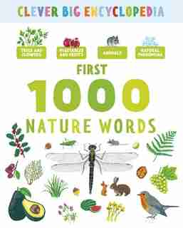 First 1000 Nature Words by Marie-elise Clever Publishing