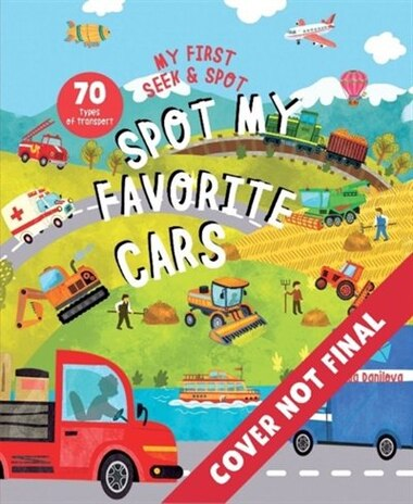 Spot My Favorite Cars: A Look & Find Book by Victoriya Kurcheva